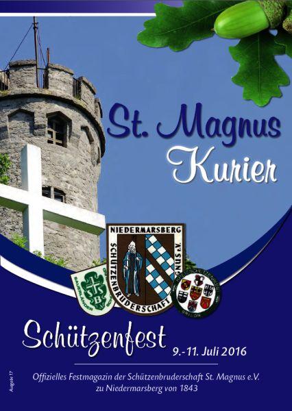 St. Magnus Kurier, Ausgabe 2016