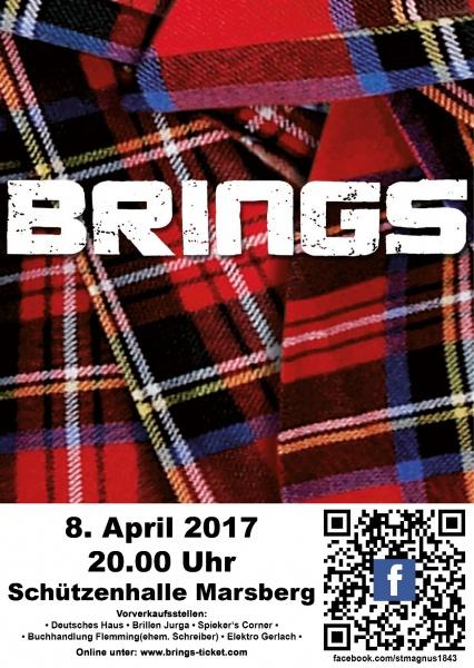 8. April 2017 – Kölner Kultband Brings in Marsberg