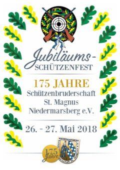 Jubiläumsschützenfest der St. Magnus Schützenbruderschaft im Mai 2018