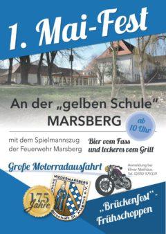 """""""Brückenfest""""-Frühschoppen am 1. Mai an der """"gelben"""" Schule (Trift)"""
