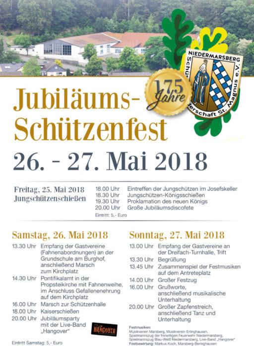 Jubiläumsschützenfest 175 Jahre St. Magnus