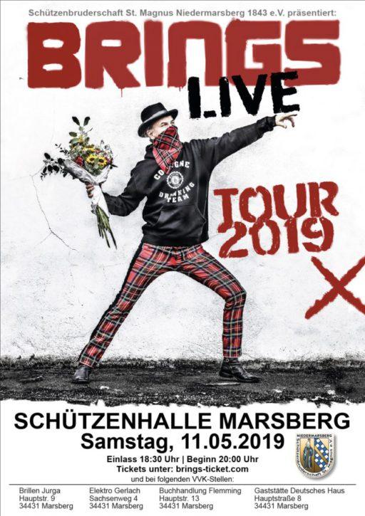 Brings kommen am 11. Mai 2019 wieder nach Marsberg!