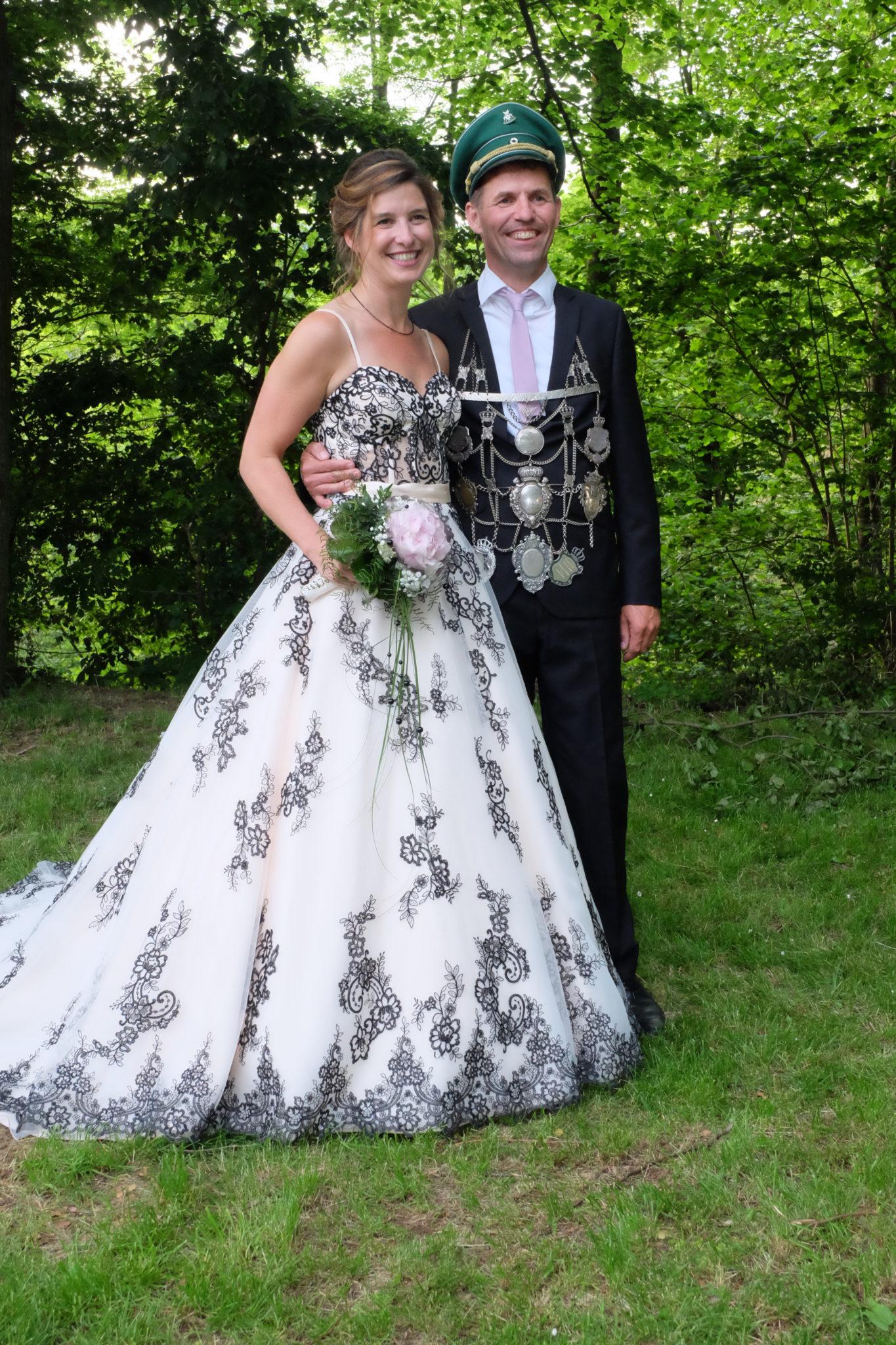 Königspaar 2019/20 Lothar Lemberg und Yvonne Luckey (Schützenverein Padberg 1828 e.V.)